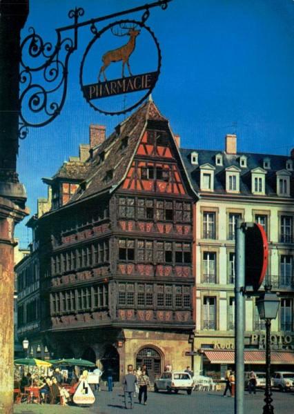 Strasbourg, La maison Kammerzell Vorderseite