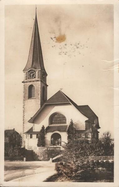 Wallisellen. 1928 Vorderseite
