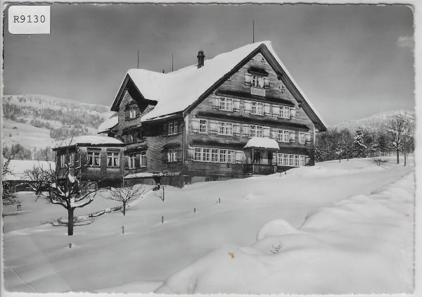 Töchterbund Ferienheim Heimetli Lutenwil Nesslau im Winter en hiver