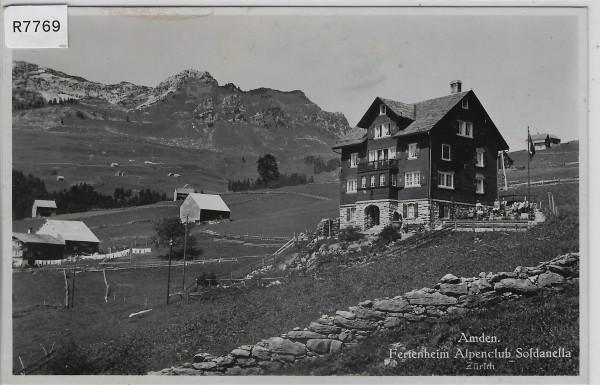 Amden - Ferienheim Alpenclub Soldanella Zürich