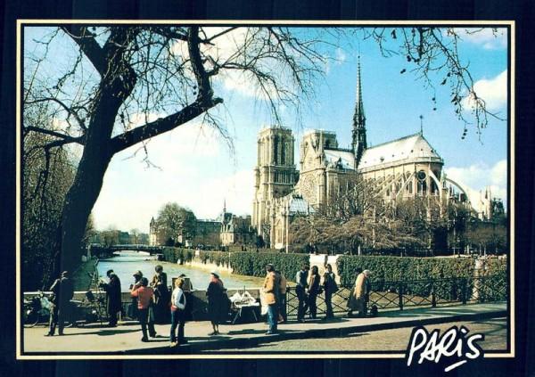Paris. Notre-Dame Vorderseite