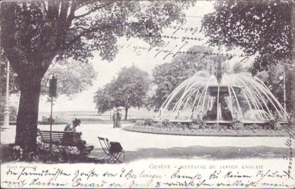 Fontaine du Jardin Anglais, Genève