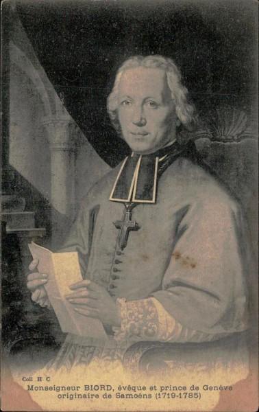 Genève, Monseigneur Biord Vorderseite