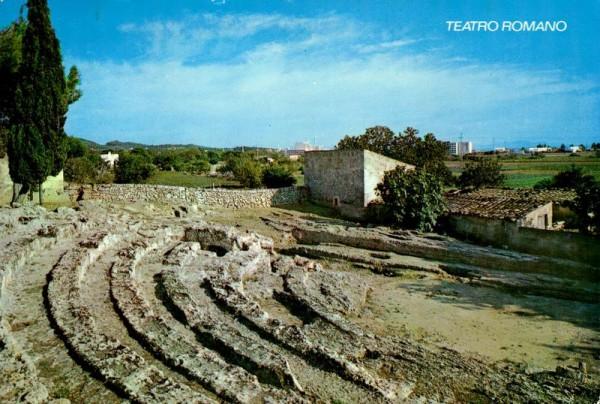 Mallorca, Alcudia, Teatro Romano Vorderseite