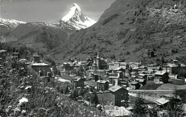 Matterhorn, Zermatt Vorderseite