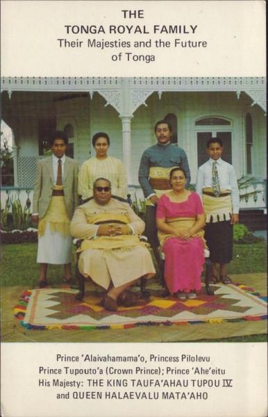 Tonga Royal Family Vorderseite