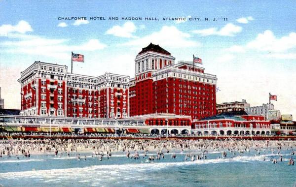 Atlantica City, Chalfonte Hotel and Haddon Hall Vorderseite