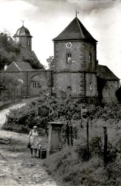 Kropsburg Vorderseite