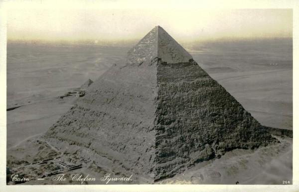 Cairo, The Chefren Pyramid Vorderseite