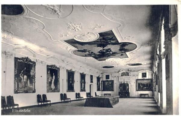 Einsiedeln - Fürstensaal Vorderseite