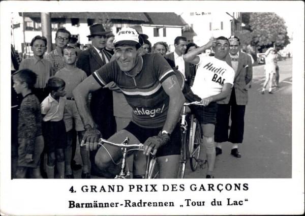 4. Grand Prix des garçons, Barmänner-Radrennen Vorderseite