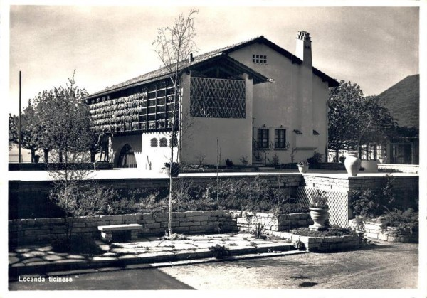 Schweizerische Landesausstellung 1939. Locanda ticinese Vorderseite