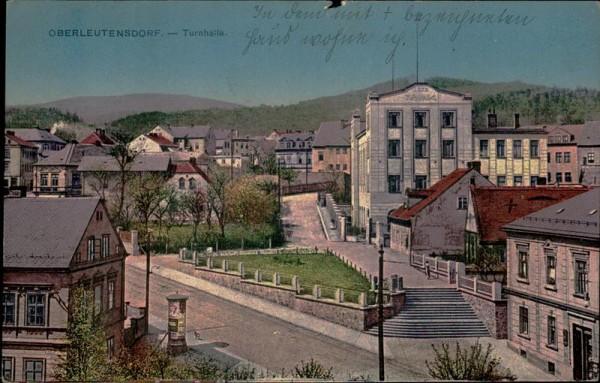 Oberleutendorf/Turnhalle. Vorderseite