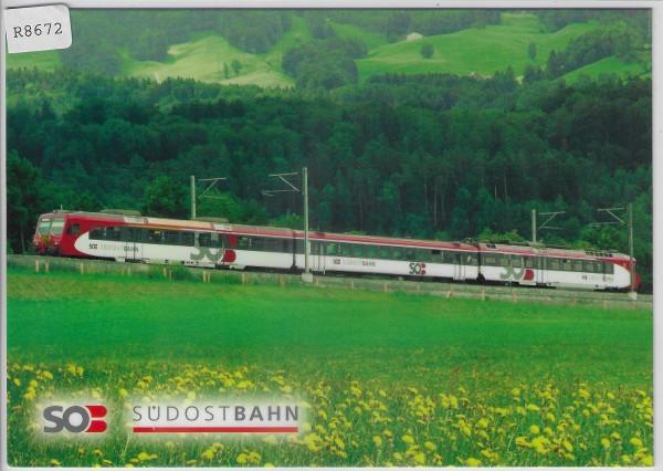 SOB Südostbahn - Pendelzug NPZ mit Triebwagen RBDe 566