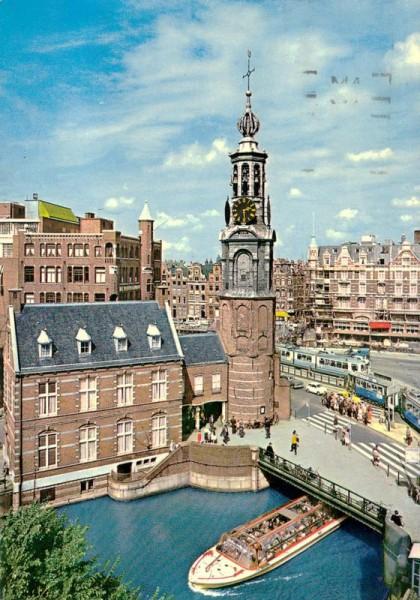 Amsterdam, Münzplatz Vorderseite