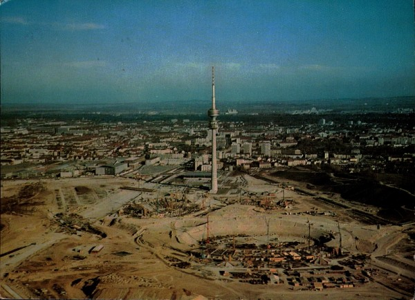 München mit Olympiaturm