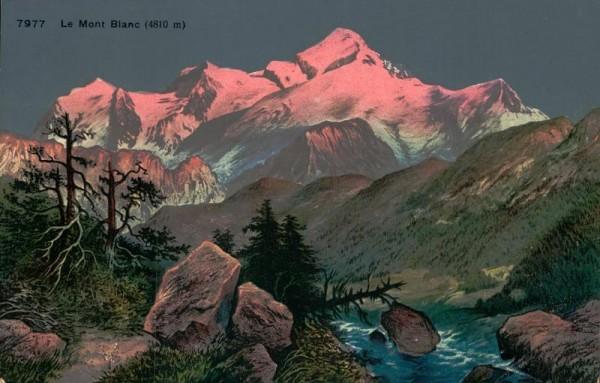 Mont Blanc Vorderseite