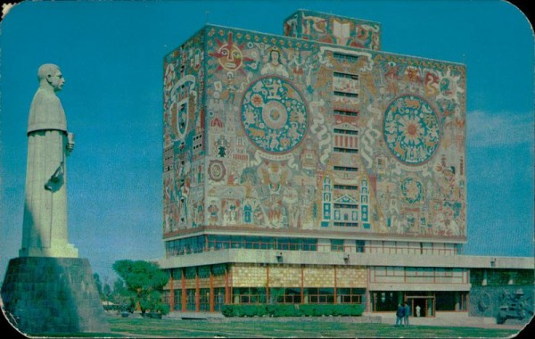 Biblioteca de la Ciudad Universitaria Vorderseite