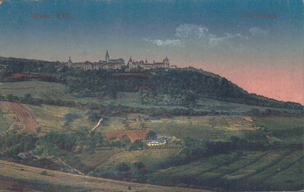 Wien, Kahlenberg, 1919 Vorderseite