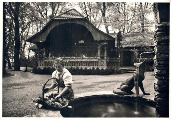 Schweizerische Landesausstellung 1939 Zürich. Fribourger Weinstube. 1939 Vorderseite