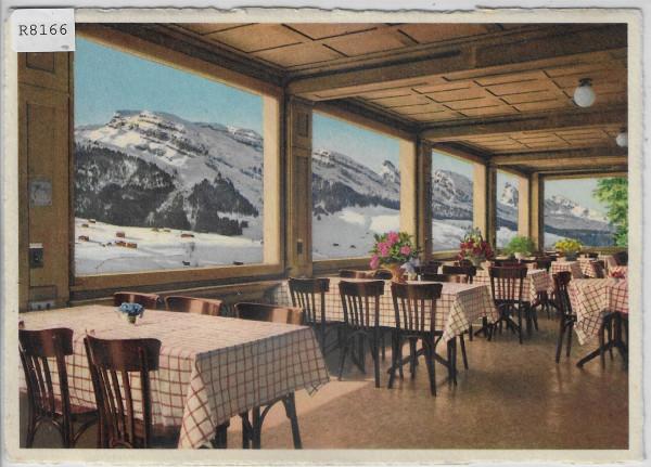 Wildhaus - Hotel Acker - Ausblick vom innern