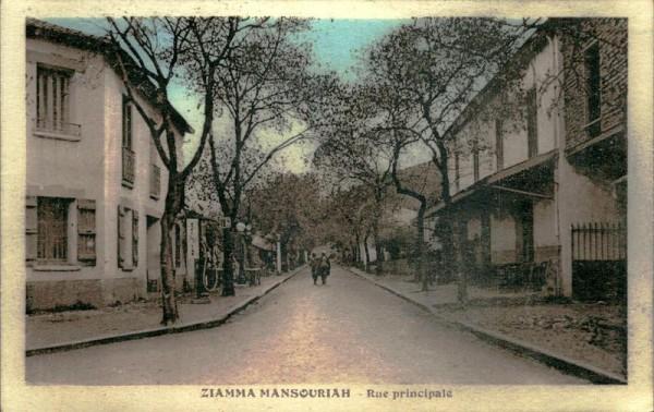 Ziamma Mansouriah-Rue principale Vorderseite