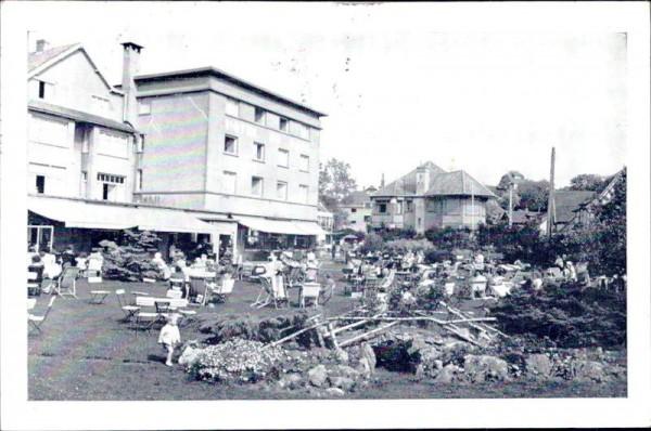La Panne, Hotel du Parc Vorderseite