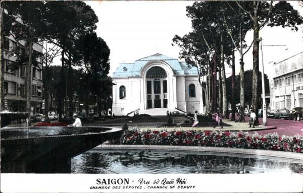 Saigon, Chambre des Députés Vorderseite