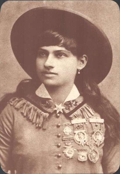 "Anni Oakley ""Little Miss Sure Shot"" 1860-1926 Vorderseite"