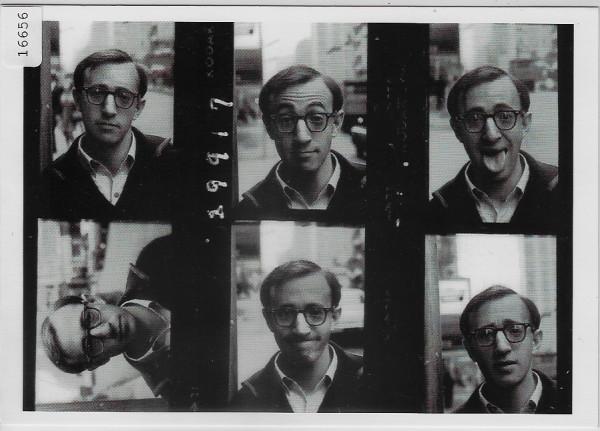 Woody Allen, New York City 1967 - Photo: Larry Shaw