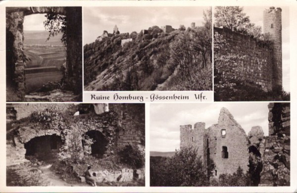 Ruine Homburg, Gössenheim