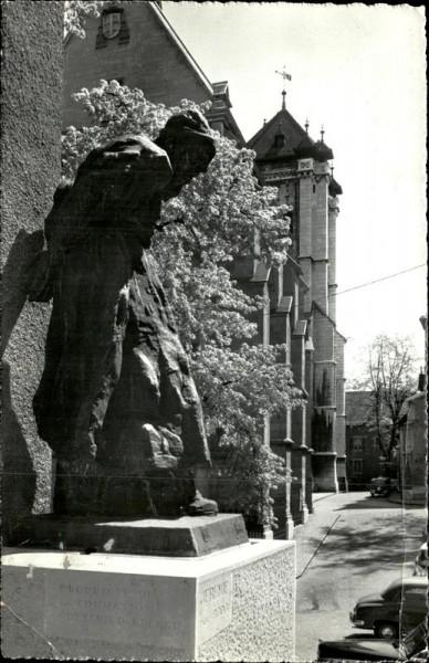 Genève, Statue de Jeremie et St. Pierre Vorderseite