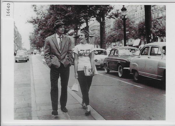 Jean-Paul Belmondo & Jean Seberg - A Bout de Souffle - Jean-Luc Godard 1959