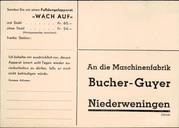 Niederweningen, Bucher-Guyer, Werbekarte | Zürich | Schweiz ...