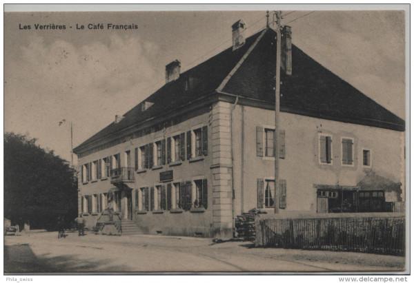 Verrières - Le Café Francais