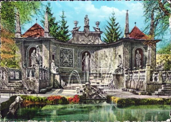 Hellbrunn, Wasserspiele