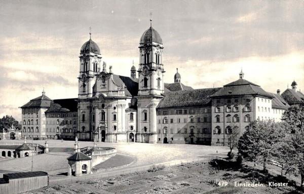 Einsiedeln. Kloster Vorderseite