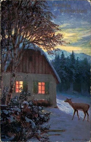Fröhliche Weihnachten! Vorderseite