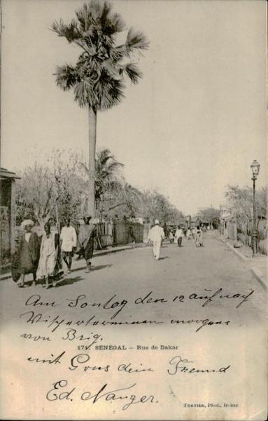 Sénégal-Rue de Dakar Vorderseite