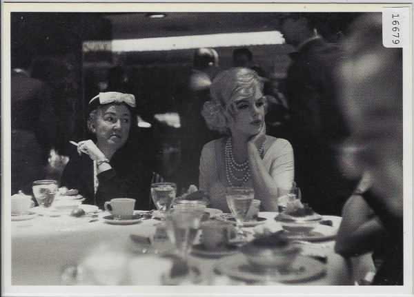 Marilyn Monroe at luncheon for women columnists in Ambassador East Hotel, Chicago 1959