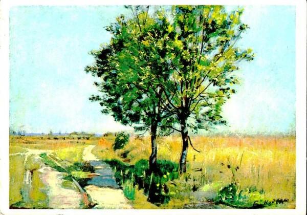 Weidenbäume, Ferdinand Hodler Vorderseite