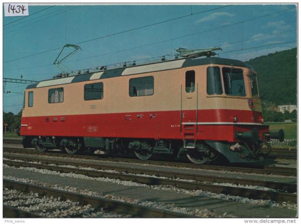 SBB - CFF - Lokomotive Re 4/4II 11158-11161, 11249-53 für TEE-Züge, 80t, 140km/h, 6500PS - Locomotiv