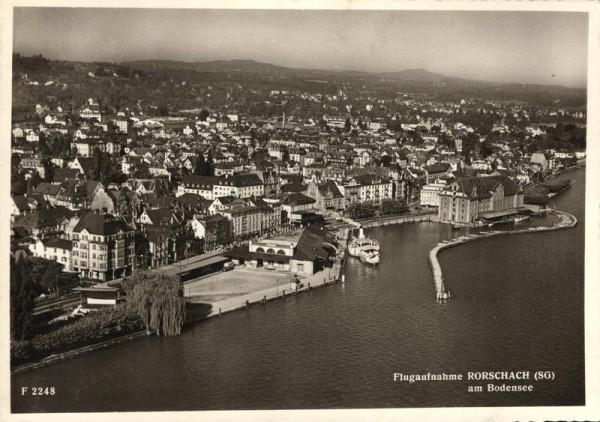 Rorschach am Bodensee Vorderseite