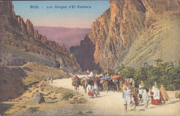Les Gorges d'El Kantara Vorderseite