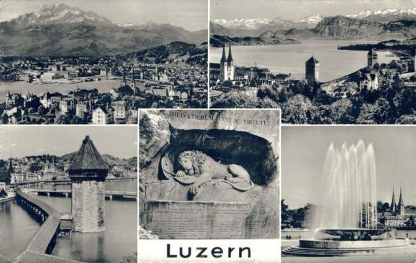 Luzern Übersicht Vorderseite