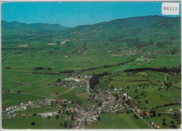 Flugaufnahme Benken SG Blick auf Kaltbrunn - Flugbild Gross