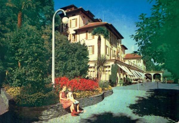 Hotel Brenscino, Brissago Vorderseite