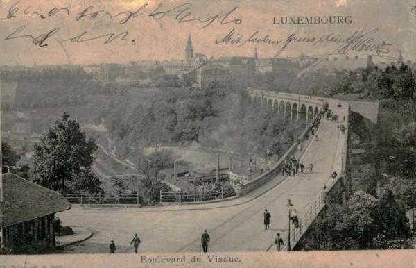 Luxembourg Vorderseite