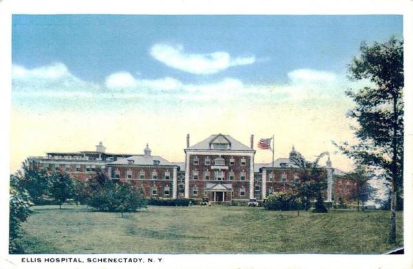 Ellis Hospital, Schenectady, N.Y. Vorderseite