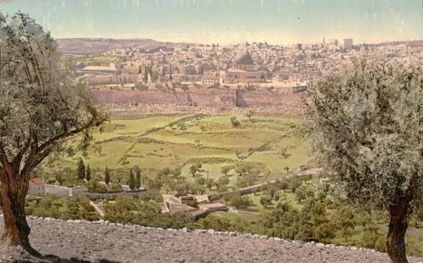 Jérusalem Vorderseite